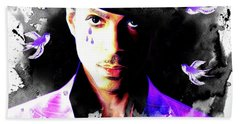 When Doves Cry Beach Towel