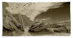 When God Cuts Slices..... Beach Sheet