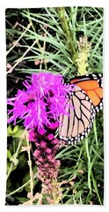 Beach Towel featuring the photograph When Nature Calls by Beth Saffer