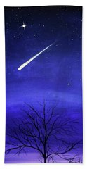 When Stars Fall Beach Towel
