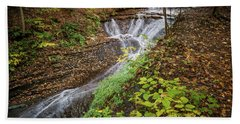Beach Towel featuring the photograph When The Leaves Fall by Dale Kincaid
