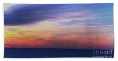 When The Sun Kissed The Sky  Beach Towel