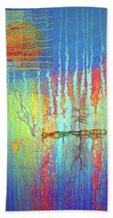 Beach Towel featuring the photograph Where Have All The Trees Gone? by Tara Turner