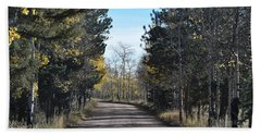 Cr 511 Divide Co Beach Towel
