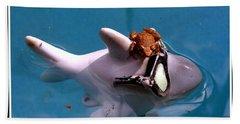 Whimsical Shark Beach Towel