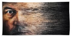 Whirlwind Of The Mind Beach Towel