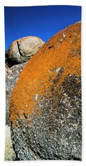 Beach Towel featuring the photograph Whisky Rocks by Angela DeFrias