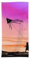 Whisper In The Wind Beach Towel