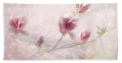 Beach Towel featuring the photograph Whisper Of Spring by Annie Snel