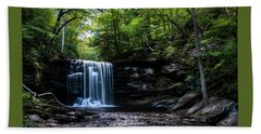 Whispering Falls Beach Towel