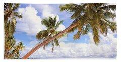 Whispering Palms. Maldives Beach Towel