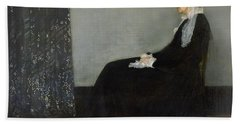 Whistlers Mother Beach Towel