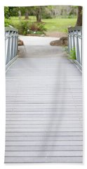 White Bridge Beach Towel