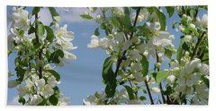 White Crabapple Beach Sheet