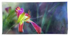 White Hall Lily Beach Towel