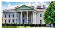 White House Beach Towel