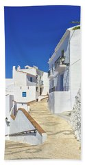 White Houses And Blue Sky Of Andalusia Beach Towel