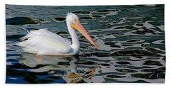 White Pelican, Too Beach Towel