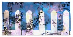 White Picket Fence Beach Towel