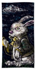 White Rabbit Beach Towel