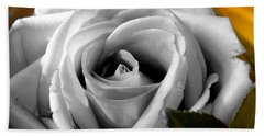 White Rose 2 Beach Towel