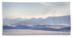 White Sands Blue Sky Beach Towel