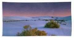 White Sands Starry Night Beach Towel