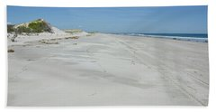 White Sandy Beach Beach Towel