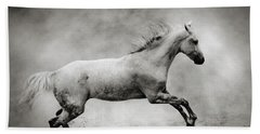 White Stallion Beach Sheet