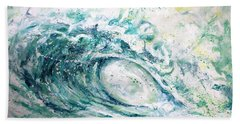 White Wash Beach Towel