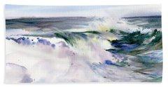 White Water Beach Towel