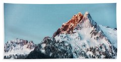 Whitehorse Sunrise Beach Towel