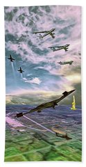 Whiteman Air Force Base Beach Towel