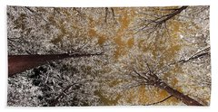Whiteout Beach Towel by Tony Beck