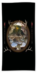 Beach Towel featuring the photograph Whitetail Dreams by Shane Bechler