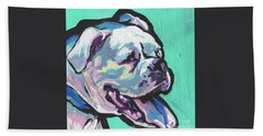 Whitey Boxer Boy Beach Towel