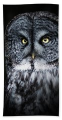 Whooo Are You Looking At? Beach Towel