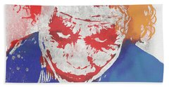 Why So Serious Beach Towel by Dan Sproul