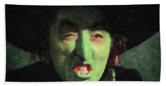Wicked Witch Of The East Beach Towel