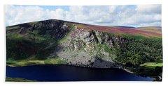 Wicklow Mountains In Ireland Beach Sheet