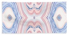 Wide Eyed Tribbing Vulgaris Vulvas Beach Towel