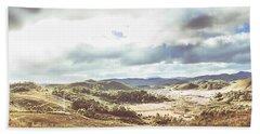 Wide Open Country Australia Beach Towel