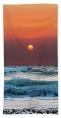 Widemouth Sunset, Cornwall Beach Towel
