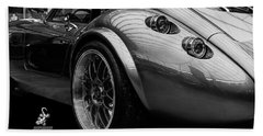 Wiesmann Mf4 Sports Car Beach Towel