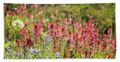 Wild About Wildflowers Beach Towel