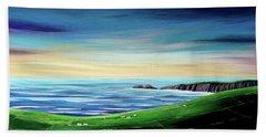 Wild Atlantic Way Sunset  Beach Towel