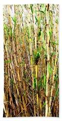 Wild Bamboo Beach Towel