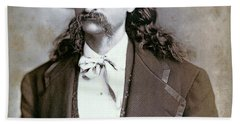 Wild Bill Hickok  1873 Beach Towel
