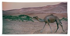 Wild Camel Beach Towel