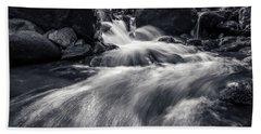 wild creek in Harz, Germany Beach Towel